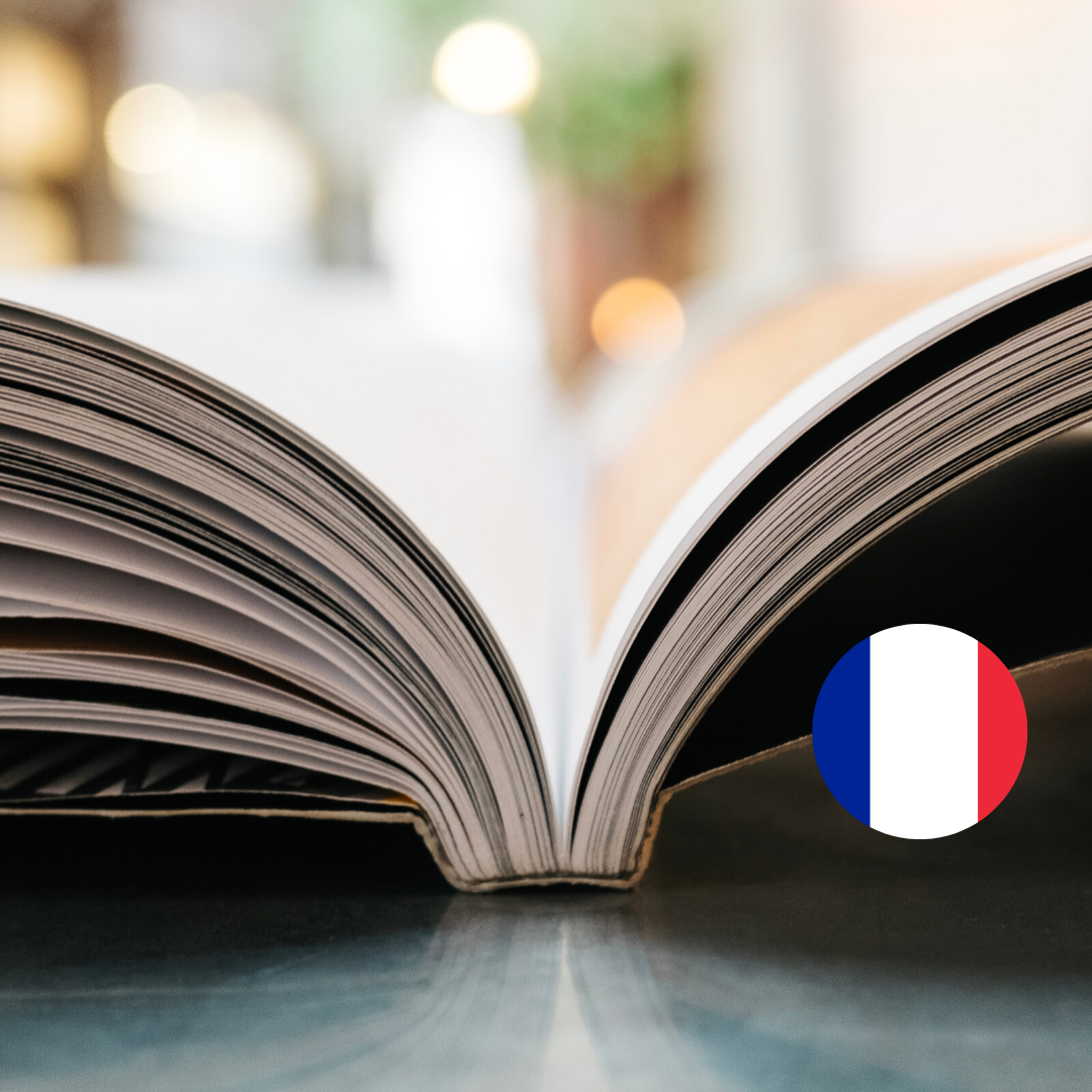 ONLINE ACTIVITY 📚 FRENCH BOOK CLUB